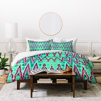 Ingrid Padilla Bohemian Romantic Blue Duvet Cover