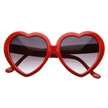 Celebrity Novelty Angel Heart Shape Sunglasses 8182