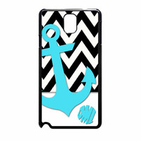 Chevron Anchor Personalized Samsung Galaxy Note 3 Case