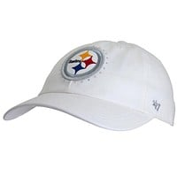 Pittsburgh Steelers - Logo Facet Juniors Adjustable Cap