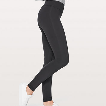 Wunder Under Hi-Rise Tight *Blackout Full-On Luxtreme 28"