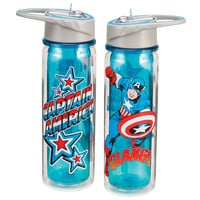 Captain America 18oz. Tritan Water Bottle