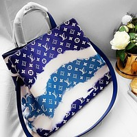 Louis Vuitton Lv Gm ice cream gradient shopping bag shopping or weekend outing bag