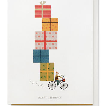 birthday bike card