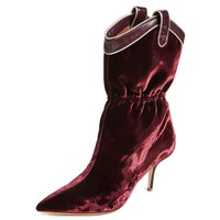Malone Souliers Daisy Velvet Boots