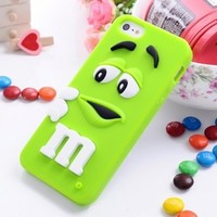 CrazyPomelo Chocolate Chips Soft Case For iPhone 5/5S (Blue)