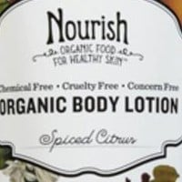 Nourish Hydrating and Smoothing Organic Body Lotion Spiced Citrus 8