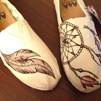 Dream Catcher Native American Indian Shoes