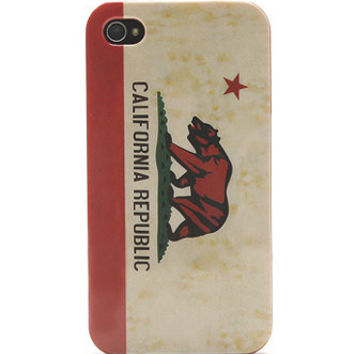 With Love From CA CA Bear 4/4S iPhone Case at PacSun.com