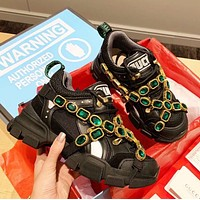shosouvenir  GUCCi Flashtrek Retro sneakers