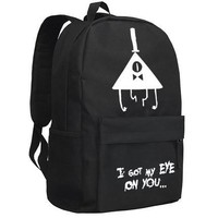 Gravity Falls Backpack Fashion Oxford SchoolBag Unisex
