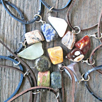 Healing Crystals and Stones - Stone Necklace - Healing Crystals - Spiritual Jewelry - Stone Necklaces - Healing Jewelry - Natural Stones
