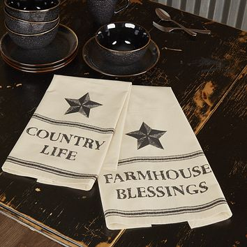 Farmhouse Star Country Life Towel Set