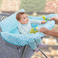 Summer Infant Cushy Cart Cover - Diamond Links