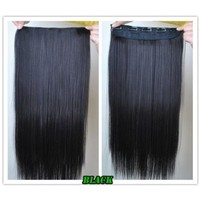 """8 Color 23"""" Straight Full Head Clip in Hair Extensions Wwii101 (Blonde 613)"""