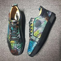 Christian Louboutin CL Low Style #2004 Sneakers Fashion Shoes Online