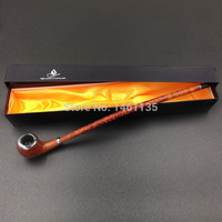 Exquisite Extremely long wooden made tobacco pipe (40cm)