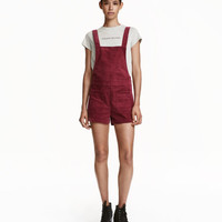H&M Overall Shorts $29.99