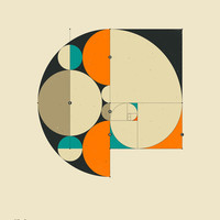Phi: The Golden Ratio Art Print by Jazzberry Blue