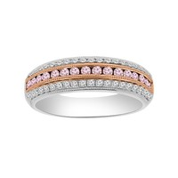 5/8ct tw Diamond Fashion Ring in 18K White and Rose Gold - Jewelry & Gifts
