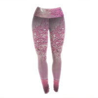 "Monika Strigel ""Song of the Springbird"" Yoga Leggings"
