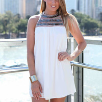 SUMMER IN PARIS DRESS , DRESSES, TOPS, BOTTOMS, JACKETS & JUMPERS, ACCESSORIES, SALE, PRE ORDER, NEW ARRIVALS, PLAYSUIT, COLOUR, GIFT VOUCHER,,White,SLEEVELESS Australia, Queensland, Brisbane