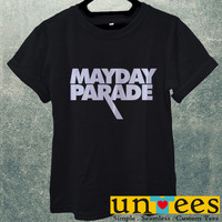 Mayday Parade Logo Men T Shirt