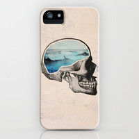 Brain Waves iPhone Case by Chase Kunz   Society6
