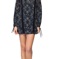 Gentle Fawn Presley Long Sleeve Mini Dress | Mosaic Print