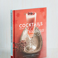 Cocktails for the Holidays by Chronicle Books from ModCloth