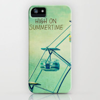 High On Summertime iPhone Case by RDelean   Society6
