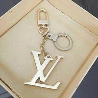 LV trend fashion men and women models wild simple keychain