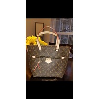 lv louis vuitton women leather shoulder bag satchel tote bags 25