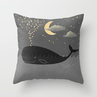 Starmaker Throw Pillow by Terry Fan
