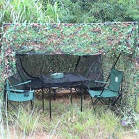 2X3 M  High-Quality Woodland Leaf Camouflage Camouflage Net Camp Military Hunting Camouflage Suitable For Camping, Hunting