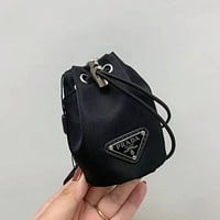 PRADA Mini Drawstring bucket bag