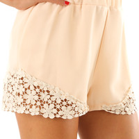 Good As Gone Shorts: Cream | Hope's