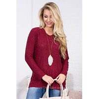 Delicate Knit Basic Sweater | Colors