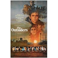 The Outsiders Movie Poster 11x17