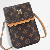 Louis Vuitton LV fashion hot selling lady printing color small bag mobile phone bag #4
