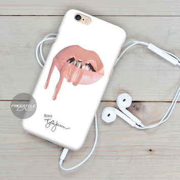 Kylie Jenner Sexy Lip  iPhone Case Cover Series