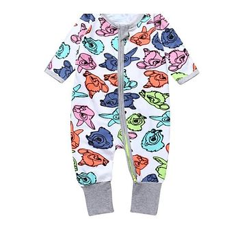 Baby Clothing born Boy Girl Slippers Clothes With A Long Sleeve deer cartoon Infant Product baby jumper