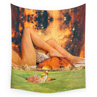 Society6 Legs & Planet Wall Tapestry