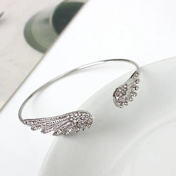 Angel Wings Adjustable Bracelet