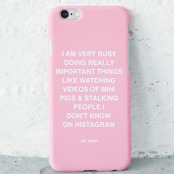 Very Busy - iPhone 6s Case - Jac Vanek