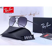 Ray-Ban new personality men and women models large frame color film polarized sunglasses #5