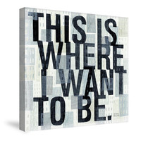 This is Where Canvas Wall Art