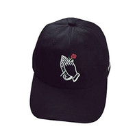 Oksale® Rose In Hands Embroidery Cotton Unisex Snapback Hip Hop Hat Baseball Cap