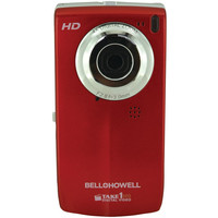 Bell+howell 5.0 Megapixel Take1hd Digital Video Camera With Flip-out Lcd Screen (red)