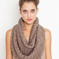 Split Infinity Scarf - Silver in  Accessories at Nasty Gal